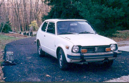 1974 Honda Civic Electric Conversion